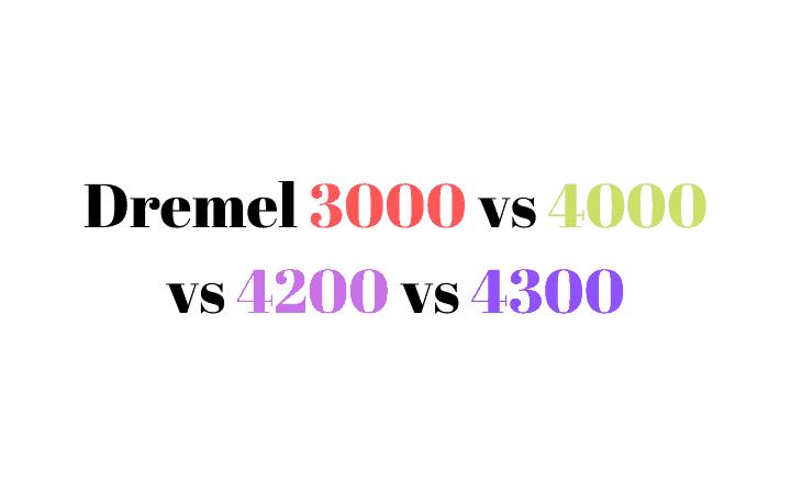 3000 vs 4000 vs 4200 vs 4300