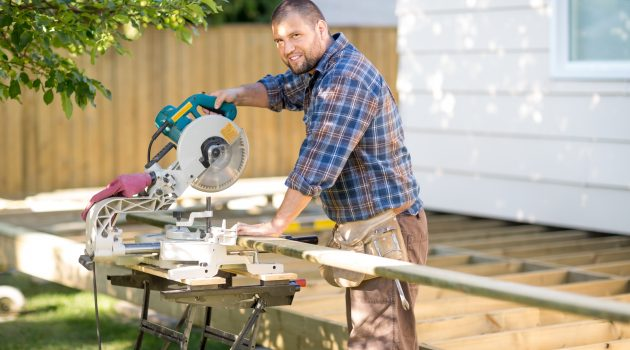 cutting using a table saw